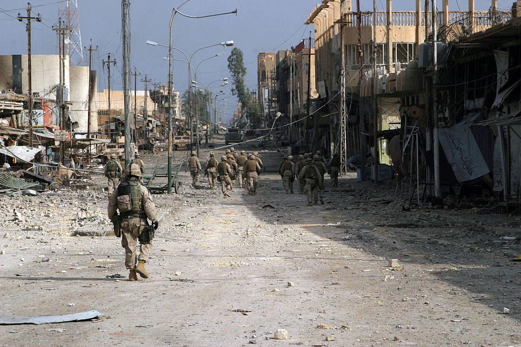 Capturing Fallujah is central to the Iraqi Army's plans.