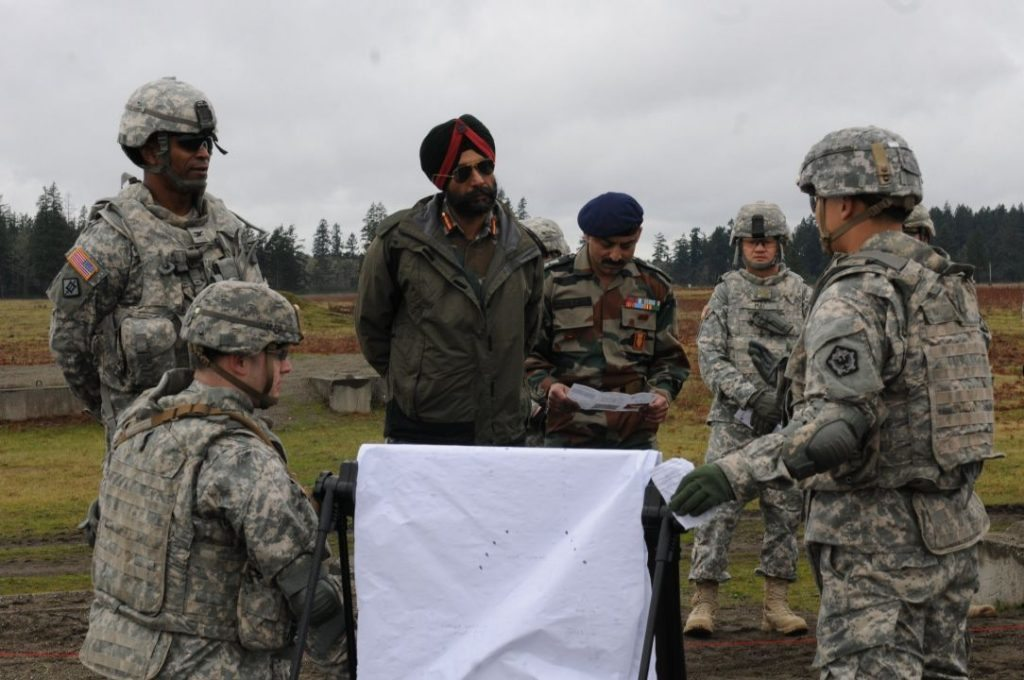 Indian and American Armies