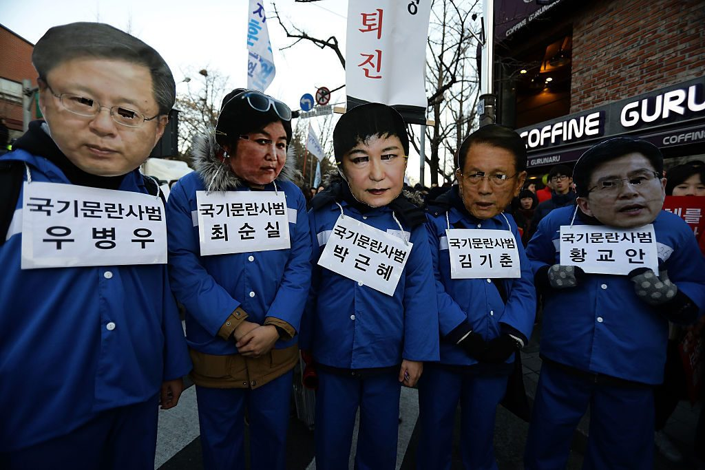South Korea artists blacklisting