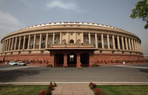 The Indian Parliament. Credit: Wikimedia Commons