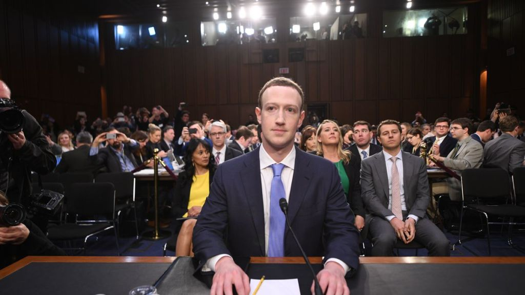 The Senate panel questioned Facebook CEO Mark Zuckerberg for approximately five hours. Credit: Twitter/@tomspano