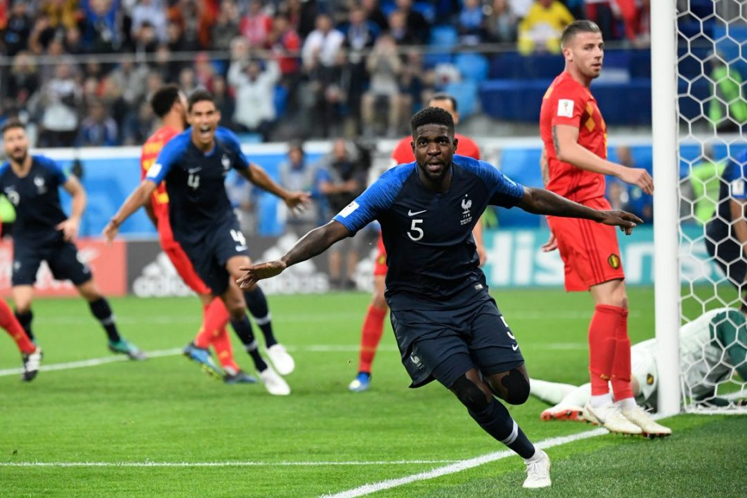 Image result for france belgium 1-0