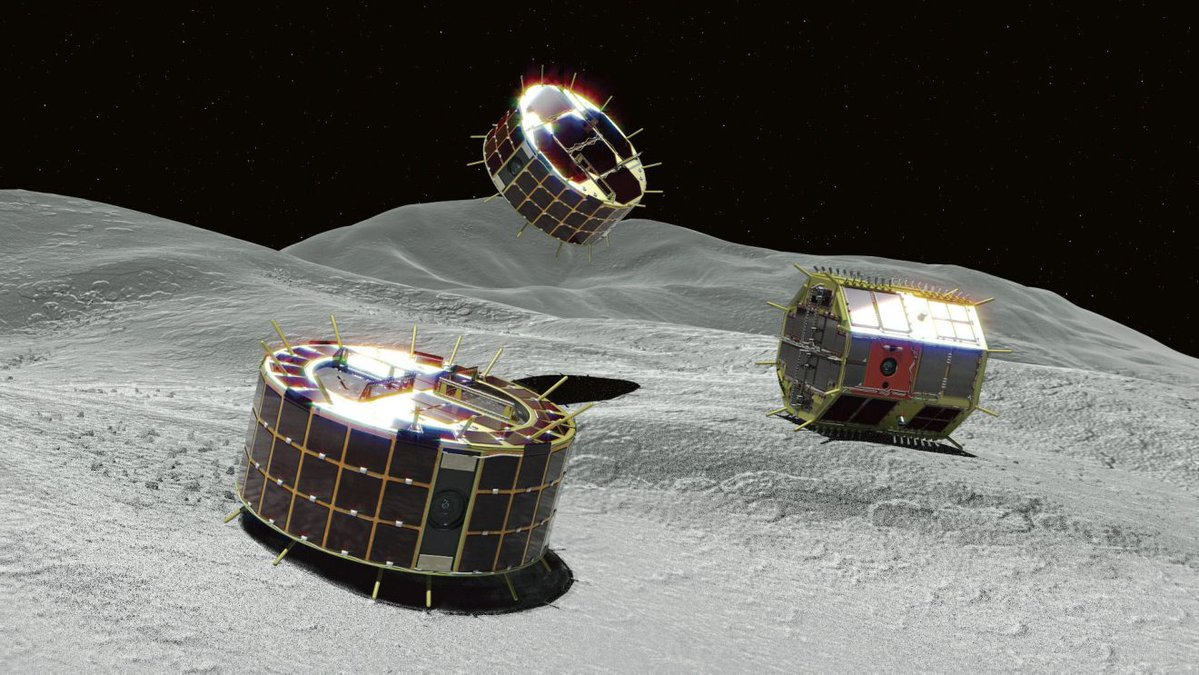 Japanese Robots Send Pictures After Landing On Asteroid