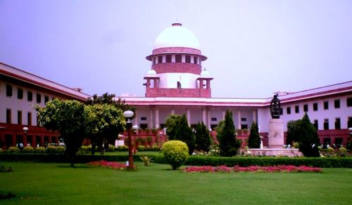 A photo of the Supreme Court of India