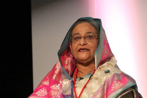 Photo of Sheikh Hasina