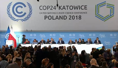 The opening ceremony of the COP24 meet at Katowice, Poland. Courtesy: Twitter/UNFCCC