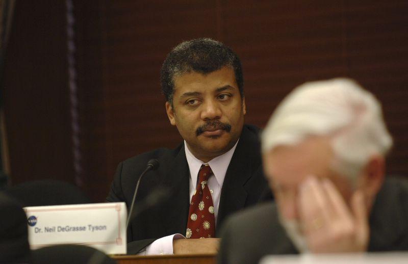 Neil deGrasse Tyson at the NASA Advisory Council Meeting in Washington, D.C., November 29, 2005