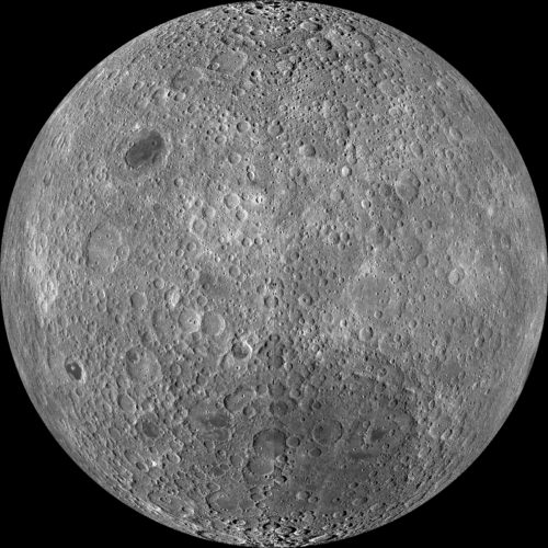 Photo of the far side of the moon