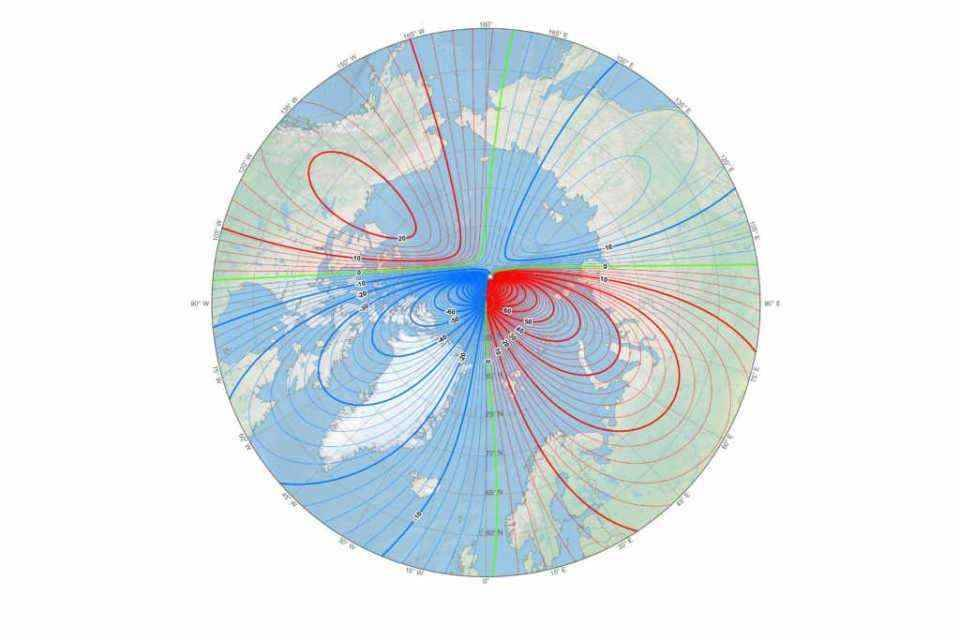 It's not your compass that's acting up: The 'magnetic north' just changed