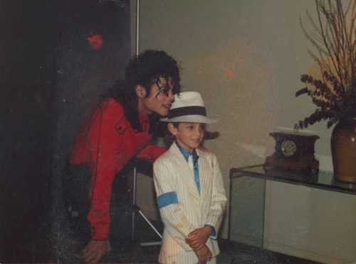 A still from Leaving Neverland
