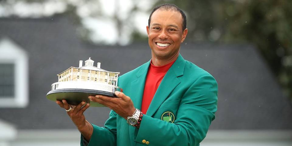 Tiger Woods wins his fifth Masters title after a 14-year ...